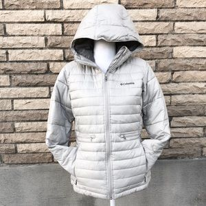 Columbia down filled puffer coat